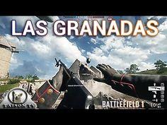 Battlefield 1 Los tipos de Granadas en la Pre-Alpha