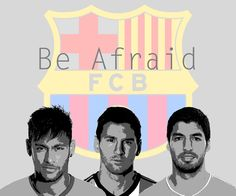 Messi And Neymar And Suarez Wallpaper (2)