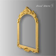 Faux Wood Mirror Frame | Decorative Frames for Mirrors Victorian Picture Frames, Victorian Frame, Victorian Pictures, Vintage Picture Frames, Vintage Frames, Large Vintage Mirror, Picture Frames For Sale, Drawing Frames, Wood Framed Mirror