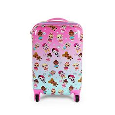 Kids Hardside Suitcase - image 1 of 5 Luggage Case, Carry On Luggage, Cute Suitcases, Family Tent, Baby Girl Hats, Lol Dolls, Kids Bags, Cute Bags, Toddler Girl