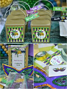 Mardi gras on pinterest king cakes mardi gras party for Decoration carnaval
