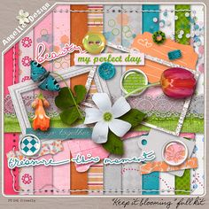 Keep It Blooming kit :: Full & Mini Kits :: Memory Scraps