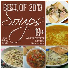 Your Thriving Family: Best of 2013 {Soups}