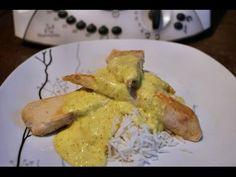 ▷ Aiguillettes de poulet, sauce curry et riz thermomix, recette thermomix viandes