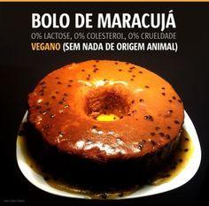 Bolo de Maracujá - VEGAN ( obs. pode ser de laranja também)