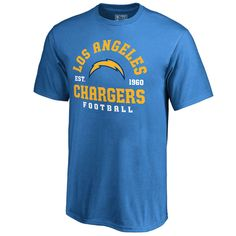 Los Angeles Chargers NFL Pro Line by Fanatics Branded Youth Full Back T- Shirt - Blue b1c013f22
