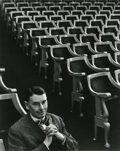 Arnold Newman - Brooks Atkinson, New York, NY (1951)