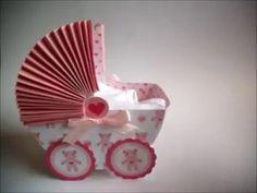 Manualidades para bebés: Tarjeta de bienvenida para bebé explicada paso a paso   Anita y su mundo - YouTube