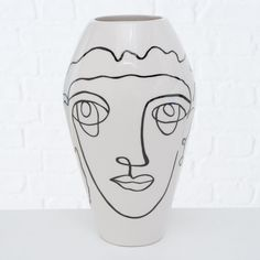 Dolomit · Farbmix Abstract Faces, Vase, Line Drawing, Monochrome, Bloom, Display, Inspiration, Drawings, Floral