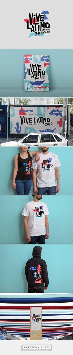 Vive Latino 2015 Branding by Sociedad Anonima | Fivestar Branding – Design and Branding Agency & Inspiration Gallery