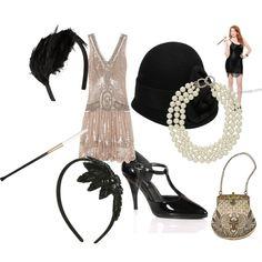 """1920's Fashion"" by meeka-672 on Polyvore"