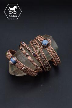 Copper Cuff, Copper Bracelet, Bracelet Clasps, Gemstone Bracelets, Copper Jewelry, Bracelets For Men, Wire Jewelry, Bangles, Healing Light