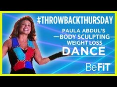 Paula Abdul: Body-Sculpting Dance Workout for Weight Loss- #throwbackthursday - YouTube