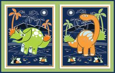 M2M Circo Dino Friends Collection Kid's Room Decor by Chadsart