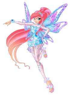 Bloom Tynix by WinxClubRus on DeviantArt Cartoon Pics, Girl Cartoon, Fire Fairy, Flora, Les Winx, Bloom Winx Club, Muse Art, Arte Disney, Princesas Disney