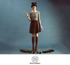 Le Blog de Sushi: Dear Creatures Fall 2012 look book