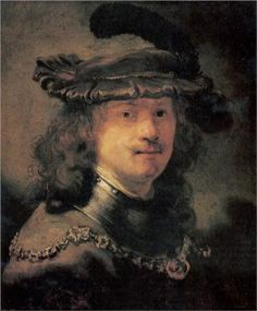 Rembrandt ?, Self-portrait, ca.1633, panel, Berlijn