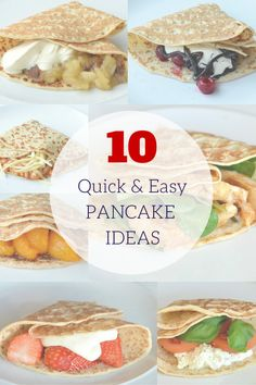 The Crazy Kitchen: 10 Easy Fillings for Pancake Day (sweet & savoury) Pancake Dessert, Pancake Day, Savory Pancakes, Savoury Dishes, Different Recipes, Other Recipes, Pancake Fillings, Kos, Crazy Kitchen