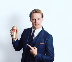 Slainte! Awarded the @tennents.lager Golden Can for Scottish Culture, going to raise a glass the night!!!  Suit by @alfreddunhill and Harris Tweed pocket square by @mrpocketsquaresinharristweed   Thanks again.x