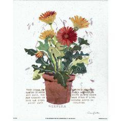 "Art Print By Nancy Overton  OV0104 Size (8"" x 10"") -- $0.50"