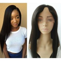 U part wig----Brazilian virgin light yaki