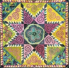 Siummer Star Paper Piecing Quilt Pattern by Karen Stone   eBay