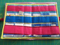 Organizing sewing needles