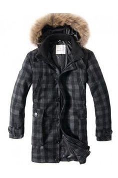 Moncler Mens Black Long Down Coat $319.00