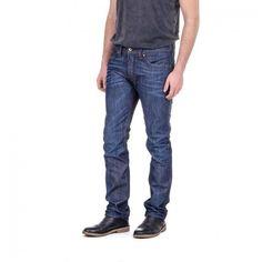 Diesel Mens Denim Jeans THAVAR Botton Closure Back Front Logo Back Italy Jean #Diesel #BaggyLoose