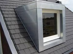 dakkapel bekleding Loft Dormer, Dormer Roof, Dormer Windows, Windows And Doors, Bungalow Extensions, House Extensions, Loft Conversion Bedroom, Roof Extension, Bungalow Renovation
