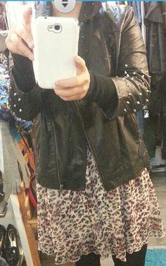 ASOS Studded Leather Jacket