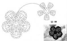 Solountip.com: Flores de tejido para imprimir
