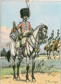 French; 7th Chasseurs a Cheval, Trumpeter, 1808-09