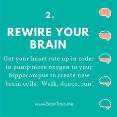You have the power in you to improve your brain, train it for success and improved performance, leading to greater levels of happiness. ⠀ Physical activity keeps your brain healthy as well as your body 💪🏼🧠⠀ Neuroplasticity Exercises, Brain Facts, Psychology Major, Mental Health Journal, Brain Science, Cognitive Behavioral Therapy, Brain Injury, Natural Health Remedies, Brain Health