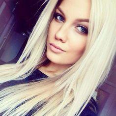 Gorgeous Straight Long Blonde Hair