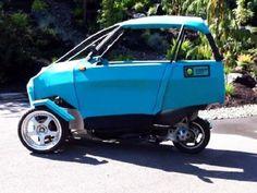 Green Light Motors hybrid trike vehicle.