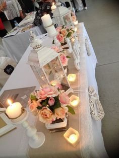 wedding table decorations ideas cheap reception flowers tower