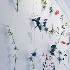 Flowers on the wall  Today is #midsummer eve and from midday all Swedish will be starting their celebrations. If you missed my post (link in bio) check out why this is such an important day in their calendar! And why not join in too? #midsummer #swedish #celebration #midsummerseve #flowers #maypole
