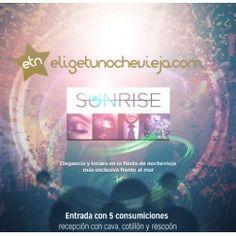 Entrada Nochevieja Sunrise 2015 Valencia