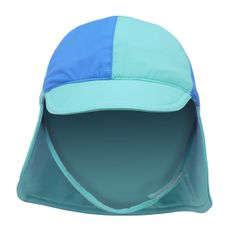 Our baby and kids SPF 50+ swim hats are reversible and have a velcro closing chin strap to keep them in place when little hands won't. The fabric has fade resistance even in Chlorine and are a matte finish so they can be worn outside the water too without looking like a swim hat.   100% cotton and made in Australia, these hats are kind to your babies skin and ethically produced.  Available in size 00000 (premmie) to size 2