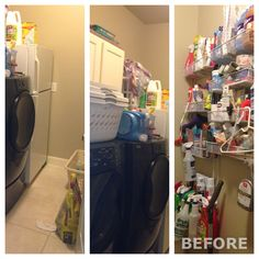 Laundry room remodel (before)