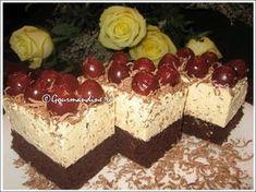 Prajitura cu rom si visine Romanian Desserts, Romanian Food, Food Cakes, Mcdonalds, Healthy Tips, Cake Recipes, Caramel, Sweet Treats, Cheesecake