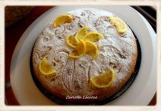 Torta con noci al profumo di limone e zenzero