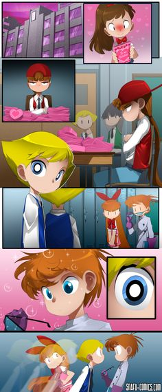 Powerpuff Girls and Dexter's Laboratory crossover - Valentines Day