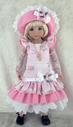 I have pinned this doll many times but it is a favorite!!!!  ♡ Ter