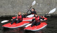 Sit-on-Top Kayaking - The Adventure Islands runs fun taster sessions on the tranquil waters of Westport Houselake which is ideal for beginners to learn new skills. They use a range of modern sit-on-top kayaks which are a great boat for beginners to learn on as they are very stable and easy to use.  Along with the supervision of our qualified staff, you'll be paddling around in no time. Sport Online, Sit On Top, Kayaks, Islands, Range, Boat, Adventure, Fitness, Easy