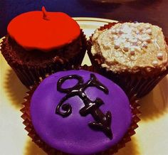 Prince cupcake Fun Cupcakes, Cupcake Cakes, Prince When Doves Cry, Prince Cake, Purple Reign, Specialty Cakes, 50th Birthday Party, Rain Shower, Let Them Eat Cake