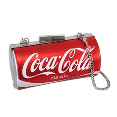 Pepsi, Coca Cola Can, Always Coca Cola, World Of Coca Cola, Red Clutch, Clutch Purse, Crossbody Bag, Coke Cans, Red Purses