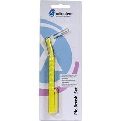 MIRADENT Interd.Bürste PIC-Brush 1er Set gelb:   Packungsinhalt: 1 St PZN: 04436941 Hersteller: Hager Pharma GmbH Preis: 2,97 EUR inkl.…