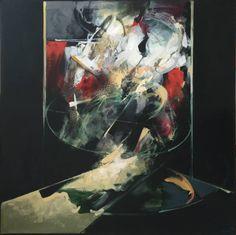 "Saatchi Art Artist Adrian Buba; Painting, ""Apparition"" #art"
